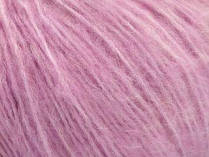 Fiber Content 34% Acrylic, 26% Polyamide, 25% Alpaca, 15% Superwash Merino Wool, Orchid, Brand ICE, Yarn Thickness 3 Light  DK, Light, Worsted, fnt2-52386