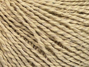 Fiber Content 68% Cotton, 32% Silk, Light Camel, Brand Ice Yarns, Beige, Yarn Thickness 2 Fine  Sport, Baby, fnt2-52944