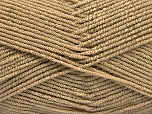Fiber Content 50% Bamboo, 50% Acrylic, Brand ICE, Cafe Latte, Yarn Thickness 2 Fine  Sport, Baby, fnt2-53090