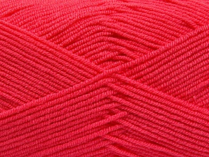Fiber Content 50% Bamboo, 50% Acrylic, Brand ICE, Candy Pink, Yarn Thickness 2 Fine  Sport, Baby, fnt2-53097
