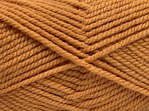 Fiber Content 100% Acrylic, Brand ICE, Camel, Yarn Thickness 5 Bulky  Chunky, Craft, Rug, fnt2-53172