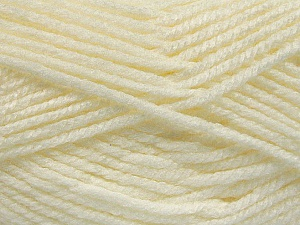 Fiber Content 100% Acrylic, Light Cream, Brand ICE, Yarn Thickness 5 Bulky  Chunky, Craft, Rug, fnt2-53176