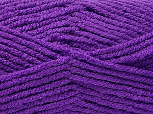 Fiber Content 100% Acrylic, Lavender, Brand ICE, Yarn Thickness 5 Bulky  Chunky, Craft, Rug, fnt2-53198
