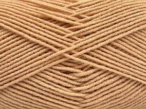 Fiber Content 70% Acrylic, 30% Wool, Brand ICE, Cafe Latte, Yarn Thickness 4 Medium  Worsted, Afghan, Aran, fnt2-53712