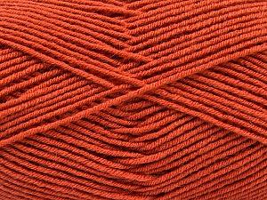 Fiber Content 70% Acrylic, 30% Wool, Terra Cotta, Brand ICE, Yarn Thickness 4 Medium  Worsted, Afghan, Aran, fnt2-53716
