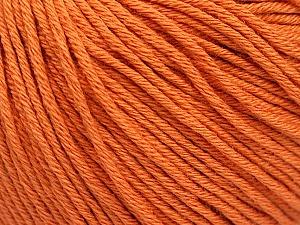 Global Organic Textile Standard (GOTS) Certified Product. CUC-TR-017 PRJ 805332/918191 Fiber Content 100% Organic Cotton, Orange, Brand ICE, Yarn Thickness 3 Light  DK, Light, Worsted, fnt2-54733
