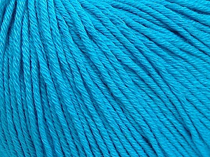 Global Organic Textile Standard (GOTS) Certified Product. CUC-TR-017 PRJ 805332/918191 Fiber Content 100% Organic Cotton, Turquoise, Brand ICE, Yarn Thickness 3 Light  DK, Light, Worsted, fnt2-55221