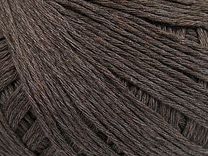 Fiber Content 100% Cotton, Brand ICE, Brown, Yarn Thickness 1 SuperFine  Sock, Fingering, Baby, fnt2-55420