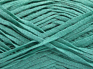 Fiber Content 100% Acrylic, Mint Green, Brand ICE, Yarn Thickness 3 Light  DK, Light, Worsted, fnt2-55724
