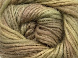 Fiber Content 100% Wool, Khaki, Brand Ice Yarns, Camel, Beige, Yarn Thickness 4 Medium  Worsted, Afghan, Aran, fnt2-55796