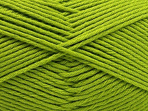Fiber Content 50% SuperFine Acrylic, 50% SuperFine Nylon, Brand ICE, Green, Yarn Thickness 4 Medium  Worsted, Afghan, Aran, fnt2-56286