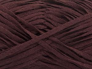 Fiber Content 100% Acrylic, Brand ICE, Dark Burgundy, Yarn Thickness 3 Light  DK, Light, Worsted, fnt2-56698