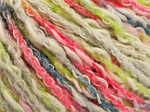 Fiber Content 50% Cotton, 50% Acrylic, White, Light Green, Brand ICE, Grey, Fuchsia, Yarn Thickness 4 Medium  Worsted, Afghan, Aran, fnt2-57285