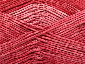 Fiber Content 100% Mercerised Cotton, Salmon, Brand ICE, Yarn Thickness 2 Fine  Sport, Baby, fnt2-57610