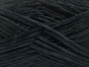 Fiber Content 100% Micro Fiber, Brand ICE, Black, Yarn Thickness 3 Light  DK, Light, Worsted, fnt2-57651