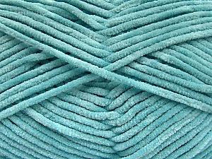 Fiber Content 100% Micro Fiber, Light Turquoise, Brand ICE, Yarn Thickness 3 Light  DK, Light, Worsted, fnt2-57661