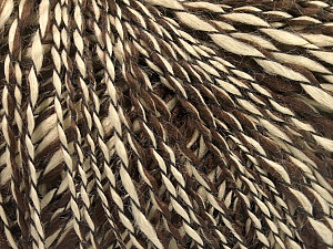 Fiber Content 90% Acrylic, 10% Polyamide, Brand ICE, Dark Brown, Camel, Yarn Thickness 3 Light  DK, Light, Worsted, fnt2-58066