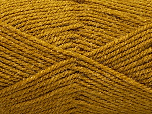 Fiber Content 50% Wool, 50% Acrylic, Olive Green, Brand ICE, Yarn Thickness 4 Medium  Worsted, Afghan, Aran, fnt2-58188