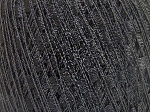 Trellis  Fiber Content 100% Polyester, Brand ICE, Black, Yarn Thickness 5 Bulky  Chunky, Craft, Rug, fnt2-58246