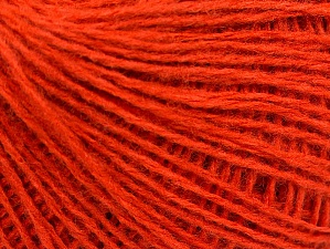 Fiber Content 50% Wool, 50% Acrylic, Brand ICE, Dark Orange, Yarn Thickness 2 Fine  Sport, Baby, fnt2-58304