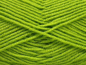 Fiber Content 60% Acrylic, 40% Wool, Brand ICE, Green, Yarn Thickness 3 Light  DK, Light, Worsted, fnt2-58340