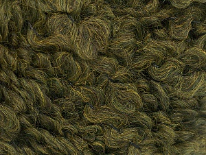 Fiber Content 9% Wool, 80% Acrylic, 11% Polyamide, Khaki, Brand ICE, Yarn Thickness 5 Bulky  Chunky, Craft, Rug, fnt2-58505