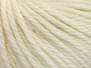 Fiber Content 60% Acrylic, 40% Wool, Brand ICE, Cream, Yarn Thickness 6 SuperBulky  Bulky, Roving, fnt2-58565
