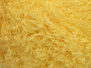 Fiber Content 100% Polyamide, Light Yellow, Brand ICE, Yarn Thickness 6 SuperBulky  Bulky, Roving, fnt2-58803