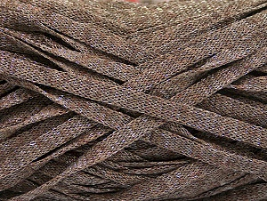Fiber Content 82% Viscose, 18% Polyester, Brand ICE, Camel Melange, Yarn Thickness 5 Bulky  Chunky, Craft, Rug, fnt2-58900