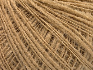 Fiber Content 50% Wool, 40% Acrylic, 10% Polyamide, Brand ICE, Cafe Latte, Yarn Thickness 2 Fine  Sport, Baby, fnt2-58966