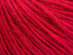 Fiber Content 50% Merino Wool, 25% Alpaca, 25% Acrylic, Brand ICE, Candy Pink, Yarn Thickness 4 Medium  Worsted, Afghan, Aran, fnt2-59041