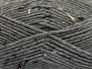 Fiber Content 95% Acrylic, 5% Viscose, Brand ICE, Grey, Brown Shades, Black, Yarn Thickness 4 Medium  Worsted, Afghan, Aran, fnt2-59764