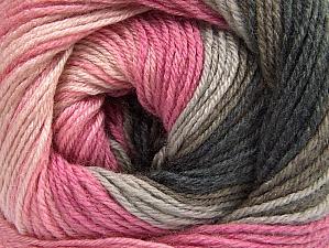 Fiber Content 70% Acrylic, 30% Merino Wool, Pink Shades, Brand ICE, Grey Shades, Brown, Yarn Thickness 2 Fine  Sport, Baby, fnt2-59771