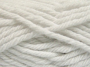 Fiber Content 100% Acrylic, White, Brand ICE, Yarn Thickness 6 SuperBulky  Bulky, Roving, fnt2-59789
