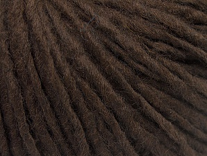 Fiber Content 50% Acrylic, 50% Wool, Brand ICE, Coffee Brown, Yarn Thickness 4 Medium  Worsted, Afghan, Aran, fnt2-59799