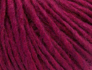 Fiber Content 50% Acrylic, 50% Wool, Brand ICE, Dark Fuchsia, Yarn Thickness 4 Medium  Worsted, Afghan, Aran, fnt2-59830