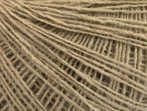 Fiber Content 50% Wool, 50% Acrylic, Brand ICE, Dark Beige, Yarn Thickness 2 Fine  Sport, Baby, fnt2-60012