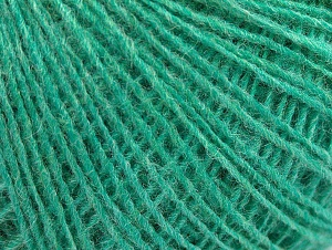 Fiber Content 50% Wool, 50% Acrylic, Mint Green, Brand ICE, Yarn Thickness 2 Fine  Sport, Baby, fnt2-60040