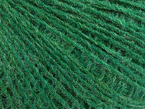 Fiber Content 50% Wool, 50% Acrylic, Brand ICE, Green, Yarn Thickness 2 Fine  Sport, Baby, fnt2-60043