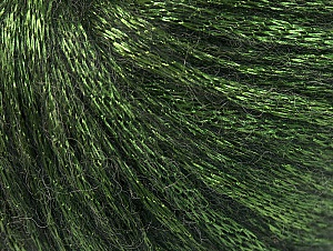 Fiber Content 70% Polyamide, 19% Merino Wool, 11% Acrylic, Brand ICE, Green, Black, Yarn Thickness 4 Medium  Worsted, Afghan, Aran, fnt2-60104