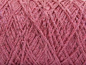 Fiber Content 90% Cotton, 10% Metallic Lurex, Light Pink, Brand ICE, Yarn Thickness 4 Medium  Worsted, Afghan, Aran, fnt2-60139