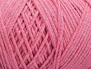 Fiber Content 100% Cotton, Light Pink, Brand ICE, Yarn Thickness 4 Medium  Worsted, Afghan, Aran, fnt2-60158