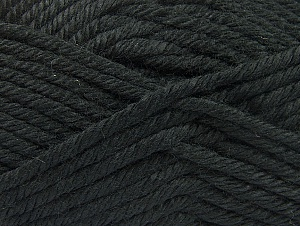 Fiber Content 100% Acrylic, Brand ICE, Black, Yarn Thickness 6 SuperBulky  Bulky, Roving, fnt2-60213