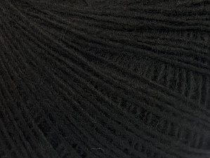 Fiber Content 100% Acrylic, Brand ICE, Black, Yarn Thickness 2 Fine  Sport, Baby, fnt2-60334
