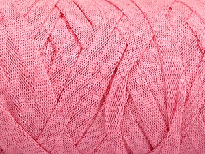 Fiber Content 100% Recycled Cotton, Light Pink, Brand ICE, Yarn Thickness 6 SuperBulky  Bulky, Roving, fnt2-60402