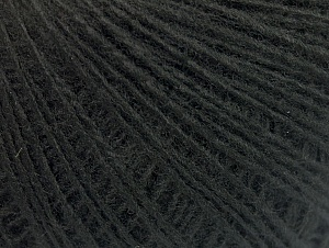 Fiber Content 100% Acrylic, Brand ICE, Black, Yarn Thickness 2 Fine  Sport, Baby, fnt2-60657