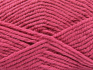 Fiber Content 50% Acrylic, 25% Wool, 25% Alpaca, Light Orchid, Brand ICE, Yarn Thickness 5 Bulky  Chunky, Craft, Rug, fnt2-60868