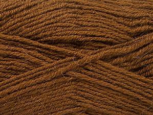 Fiber Content 50% Acrylic, 25% Wool, 25% Alpaca, Brand ICE, Brown, Yarn Thickness 3 Light  DK, Light, Worsted, fnt2-60894