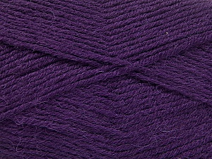 Fiber Content 50% Acrylic, 25% Wool, 25% Alpaca, Purple, Brand ICE, Yarn Thickness 3 Light  DK, Light, Worsted, fnt2-60896
