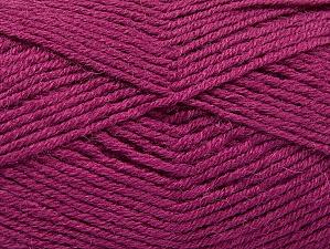Fiber Content 50% Acrylic, 25% Wool, 25% Alpaca, Orchid, Brand ICE, Yarn Thickness 3 Light  DK, Light, Worsted, fnt2-60897